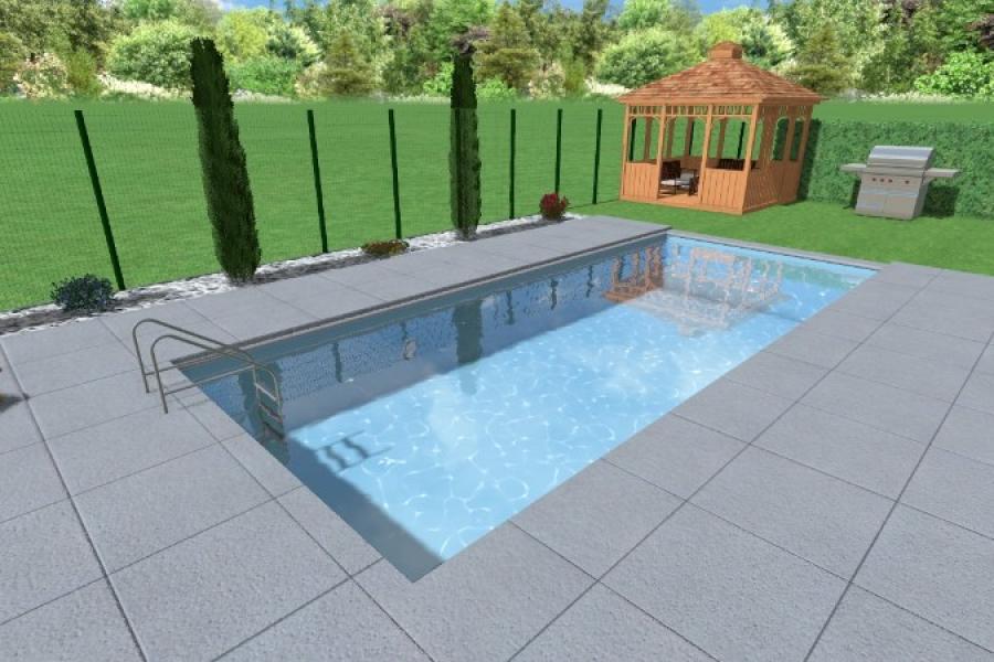 Conception 3D Jardin