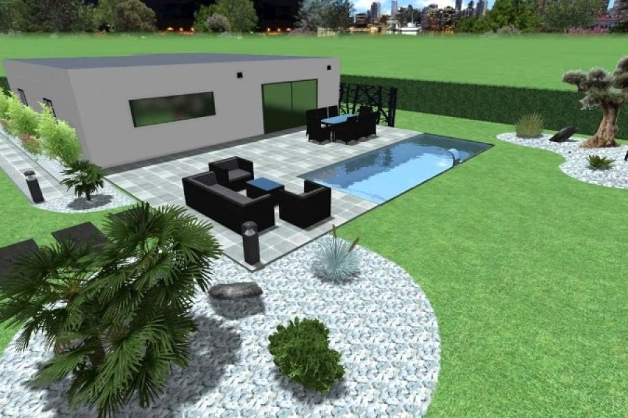 Conception 3D jardin